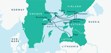 Tallinn stockholm tallink